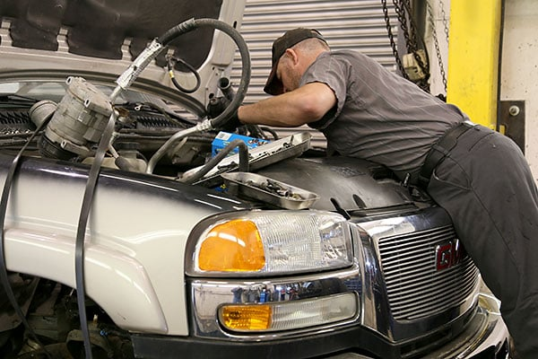 ASE mechanic at the auto care center in malad idaho